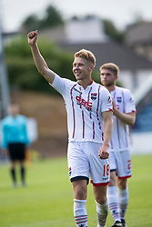 Ross County's Jamie Lindsay after the end of the game. Dundee 1 v 2 Ross County, Scottish Premiership game played 5/8/2017 at Dundee's home ground Dens Park.