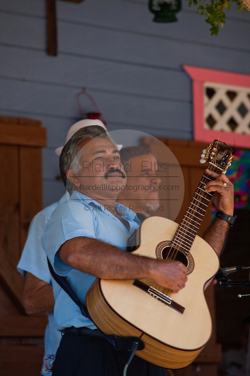Musicians at the Maricao Coffee Festival in the highlands of Puerto Rico.