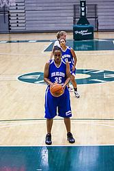 20 June 2009: Jaylynn Stewart.  Illinois Basketball Coaches Association 1A-2A Girls All Star game.