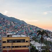 CAPTION: The colorful hillside suburb of Jalousie looks down over the Haitian capital, Port-au-Prince. Here, Sant Pon Ayiti (SPA) and cultural group Troupe Dahomey are working together to engage with young people through traditional music and dance. ORGANIZATION: Troupe Dahomey / Sant Pont Ayiti (SPA). LOCATION: Jalousie, Port-au-Prince, Haiti. INDIVIDUAL(S) PHOTOGRAPHED: N/A.