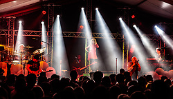 23.06.2017, Baumbar Areal, Kaprun, AUT, Austropop Festival, im Bild EAV (Erste Allgemeine Verunsicherung // EAV (Erste Allgemeine Verunsicherung during the Austropop Festival in Kaprun, Austria on 2017/06/23. EXPA Pictures © 2015, PhotoCredit: EXPA/ JFK