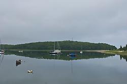 Calm waters in East Hampton, NY