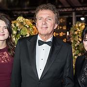 NLD/Amsterdam/20171012 - Televizier-ring Gala 2017, Robert ten Brink, partner Roos Cialone en dochter