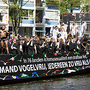 NLD/Amsterdam//20170805 - Gay Pride 2017, Boot Legally Gay