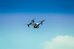 Drone Inspire 1, fabricado pela DJI sobrevoa canavial orgânico, lavoura de cana-de-açucar, no bairro Picada 48 Alta, em Ivoti, RS. FOTO: Gustavo Roth / Agência Preview