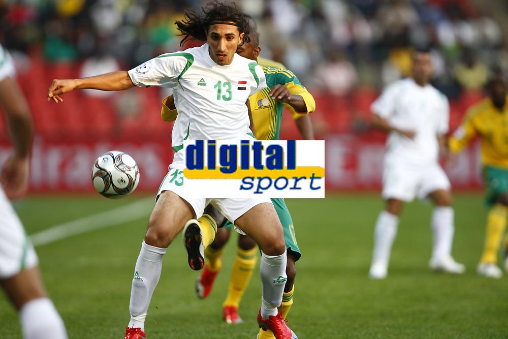 Karrar Jasim of Iraq FIFA Confederations Cup South Africa 2009  South Africa  v Iraq at Coca Cola Park ( Ellis Park )  Stadium <br /> 14/06/2009 Credit Colorsport / Kieran Galvin