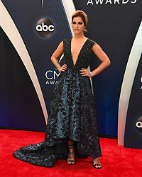 Celebrities arrive at the 52nd Annual CMA Awards at the Bridgestone Arena. 14 Nov 2018 Pictured: Cassadee Pope. Photo credit: MBS/MEGA TheMegaAgency.com +1 888 505 6342
