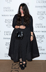 Simone Rocha attending the Harper's Bazaar Woman of the Year awards at Claridges in London. Picture date: Monday October 31, 2016. Photo credit should read: Isabel Infantes / EMPICS Entertainment.