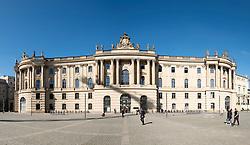 Law Faculty Building (former Altes Palais) of Humboldt University on Under den Linden in Mitte Berlin Germany