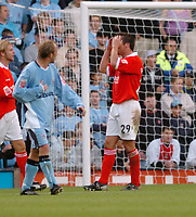 Photo. Leigh Quinnell.  Coventry City v Rotherham United. Coca Cola championship. 18/09/2004.<br />