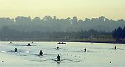 Sydney. AUSTRALIA. 2000 Summer Olympic Regatta, Penrith. NSW.  <br /> <br /> General view of the Penrith Course<br /> <br /> <br /> [Mandatory Credit Peter SPURRIER/ Intersport Images] Sydney International Regatta Centre (SIRC) 2000 Olympic Rowing Regatta00085138.tif
