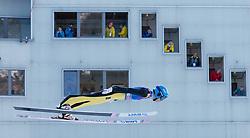 31.12.2017, Olympiaschanze, Garmisch Partenkirchen, GER, FIS Weltcup Ski Sprung, Vierschanzentournee, Garmisch Partenkirchen, Training, im Bild Evgeniy Klimov (RUS) // Evgeniy Klimov of Russian Federation during his Practice Jump for the Four Hills Tournament of FIS Ski Jumping World Cup at the Olympiaschanze in Garmisch Partenkirchen, Germany on 2017/12/31. EXPA Pictures © 2017, PhotoCredit: EXPA/ Jakob Gruber