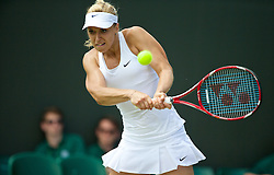 01.07.2014, All England Lawn Tennis Club, London, ENG, WTA Tour, Wimbledon, Tag 8, im Bild Sabine Lisicki (GER) //during day 8 the Wimbledon Championships at the All England Lawn Tennis Club in London, Great Britain on 2014/07/01. EXPA Pictures © 2014, PhotoCredit: EXPA/ Propagandaphoto/ David Rawcliffe<br /> <br /> *****ATTENTION - OUT of ENG, GBR*****