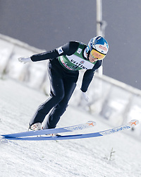 February 8, 2019 - Lahti, Finland - Andreas Alamommo competes during FIS Ski Jumping World Cup Large Hill Individual Qualification at Lahti Ski Games in Lahti, Finland on 8 February 2019. (Credit Image: © Antti Yrjonen/NurPhoto via ZUMA Press)
