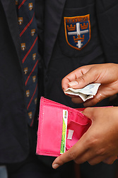 The cost of school uniforms