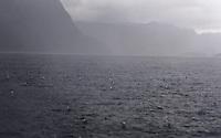 Heavy rain in Vågsfjorden - regnvær i Vågsfjorden, Sogn og fjordane