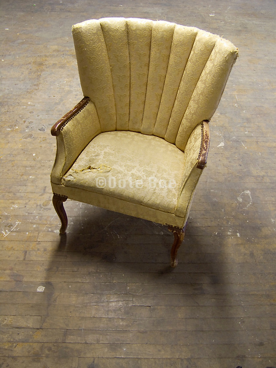 an old arm chair