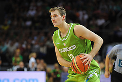 Zoran Dragic of Slovenia during friendly match between National Teams of Slovenia and Lithuania before World Championship Spain 2014 on August 18, 2014 in Kaunas, Lithuania. Photo by Robertas Dackus / Sportida.com