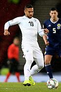 Dia Sabia (19) (Hapoel Be'er Sheva)of Israel during the UEFA Nations League match between Scotland and Israel at Hampden Park, Glasgow, United Kingdom on 20 November 2018.