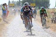 Tom Dumoulin (NED - Team Sunweb) during the 105th Tour de France 2018, Stage 9, Arras Citadelle - Roubaix (156,5km) on July 15th, 2018 - Photo Kei Tsuji / BettiniPhoto / ProSportsImages / DPPI