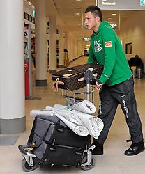 11.01.2010, Flughafen, Bremen, GER, Ankunft Werder Bremen Trainingslager Belek Türkei / Tuerkei 2011, im Bild Marko Arnautovic (Bremen #7)   EXPA Pictures © 2011, PhotoCredit: EXPA/ nph/  Frisch       ****** out of GER / SWE / CRO ******