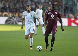 October 22, 2017 - Turin, Italy - Niang M'Baye  during Serie A match between Torino v Roma, in Turin, on October 22, 2017  (Credit Image: © Loris Roselli/NurPhoto via ZUMA Press)