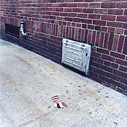 """14020396Striped """"Ladies one size"""" Glove200 block of 104th Street (near USPS)<br /> 14-February, 2003 2.45PM"""