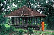 Sri Lanka. An old Ambalama in the Kurunegala district.