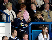 Photo: Jed Wee.<br />Leeds United v Southend United. Coca Cola Championship. 28/10/2006.<br /><br />New Leeds manager Dennis Wise spends most of the first half watching his team from the director's box.