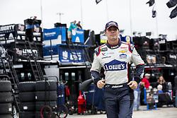 November 16, 2018 - Homestead, Florida, U.S. - Jimmie Johnson (48) runs through the garage during practice for the Ford 400 at Homestead-Miami Speedway in Homestead, Florida. (Credit Image: © Justin R. Noe Asp Inc/ASP)