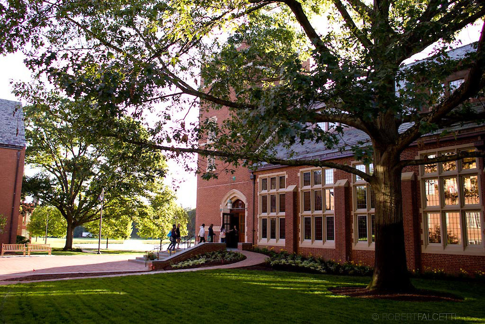 The Taft School. Watertown, CT. New Dining Hall.  (Photo by ROBERT FALCETTI)