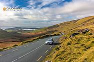 Road over Conor Pass near Dingle, Ireland