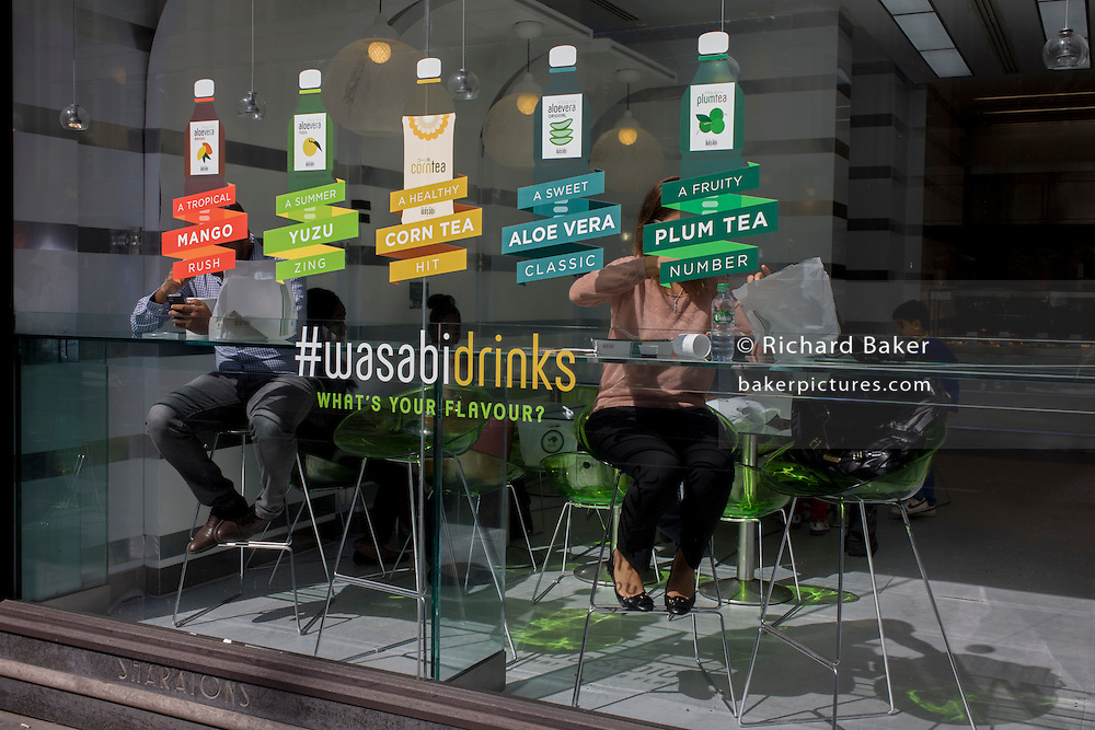 Anonymous wasabi retailer customers and healthy drinks varieties.