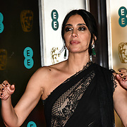 Nadine Labaki Arrivers at EE British Academy Film Awards in 2019 after-party dinner at Grosvenor house on 10 Feb 2019.