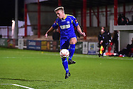 South Park defender Luke Elliott (3) during the Ryman League - Div One South match between Carshalton Athletic and South Park FC at War Memorial Sports Ground, Carshalton, United Kingdom on 19 November 2016. Photo by Jon Bromley.