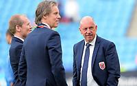 Fotball <br /> UEFA Euro 2016 Qualifying Competition<br /> 12.06.2015<br /> Norge v Aserbajdsjan / Norway v Aserbajdsjan 0:0<br /> Foto: Morten Olsen/Digitalsport<br /> <br /> Jan Åge Fjørtoft  og Nils Johan Semb - NOR