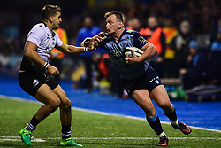 Matthew Rees of Cardiff Blues in action  - Mandatory by-line: Craig Thomas/JMP - 04/11/2017 - RUGBY - BT Sport Cardiff Arms Park - Cardiff, Wales - Cardiff Blues v Zebre Rugby Club - Guinness Pro 14
