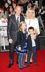 © Licensed to London News Pictures. Former Manchester United footballer Nicky Butt and his family attend The Class of 92  World Film Premiere at The Odeon West End, Leicester Square, London on 01 December 2013. Photo credit: Richard Goldschmidt/LNP
