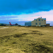 Grímsey is a small Icelandic island, 40 kilometres off the north coast of the main island of Iceland and straddling the Arctic Circle. In January 2011 Grímsey had 86 inhabitants.