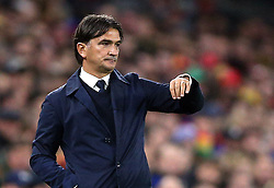 File photo dated 13-10-2019 of Croatia's manager Zlatko Dalic. Issue date: Tuesday June 1, 2021.