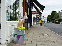 Tennis - 2021 All-England Championships - Week One - Wimbledon<br /> <br /> An estate agents display in the village.<br /> <br /> COLORSPORT/ASHLEY WESTERN