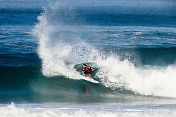 Willian Cardoso (BRA) is eliminated from the 2018 Quiksilver Pro France finishing with an equal 9th after placing third in Heat 2 of Round 4 in Hossegor, France.