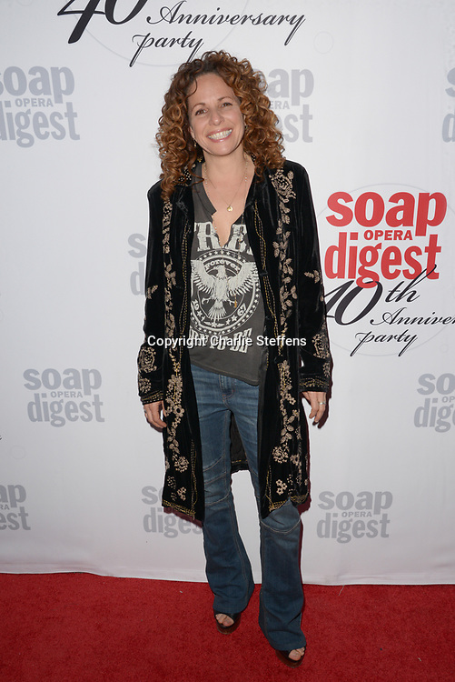 MEREDITH SCOTT LYNN at Soap Opera Digest's 40th Anniversary party at The Argyle Hollywood in Los Angeles, California