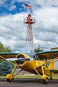 1946 Fairchild 24W-46 at Wings and Wheels at Oregon Aviation Historical Society.