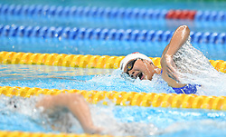 JAKARTA, Aug. 24, 2018  Wang Jianjiahe of China competes during women's 400m freestyle final of swimming at the 18th Asian Games in Jakarta, Indonesia, Aug. 24, 2018. Wang won the gold medal. (Credit Image: © Pan Yulong/Xinhua via ZUMA Wire)