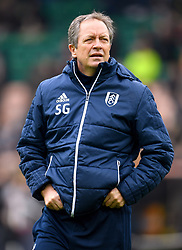 Fulham's Senior Coach Stuart Gray during the Sky Bet Championship match at Carrow Road, Norwich.