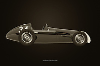 Black and white version of the legendary Alfa Romeo 158 Alfetta from 1950<br /> Available as download or as print on various materials such as canvas, poster, art print, on metal or covered with an acrylic to give more depth.<br /> Ideal for the car enthusiast to decorate his/her home or office. -<br /> BUY THIS PRINT AT<br /> <br /> FINE ART AMERICA<br /> ENGLISH<br /> https://janke.pixels.com/featured/alfa-romeo-158-alfetta-1950-jan-keteleer.html<br /> <br /> WADM / OH MY PRINTS<br /> DUTCH / FRENCH / GERMAN<br /> https://www.werkaandemuur.nl/nl/shopwerk/Alfa-Romeo-158-Alfetta-1950-B-amp-W/704219/132?mediumId=1&size=75x50<br /> -
