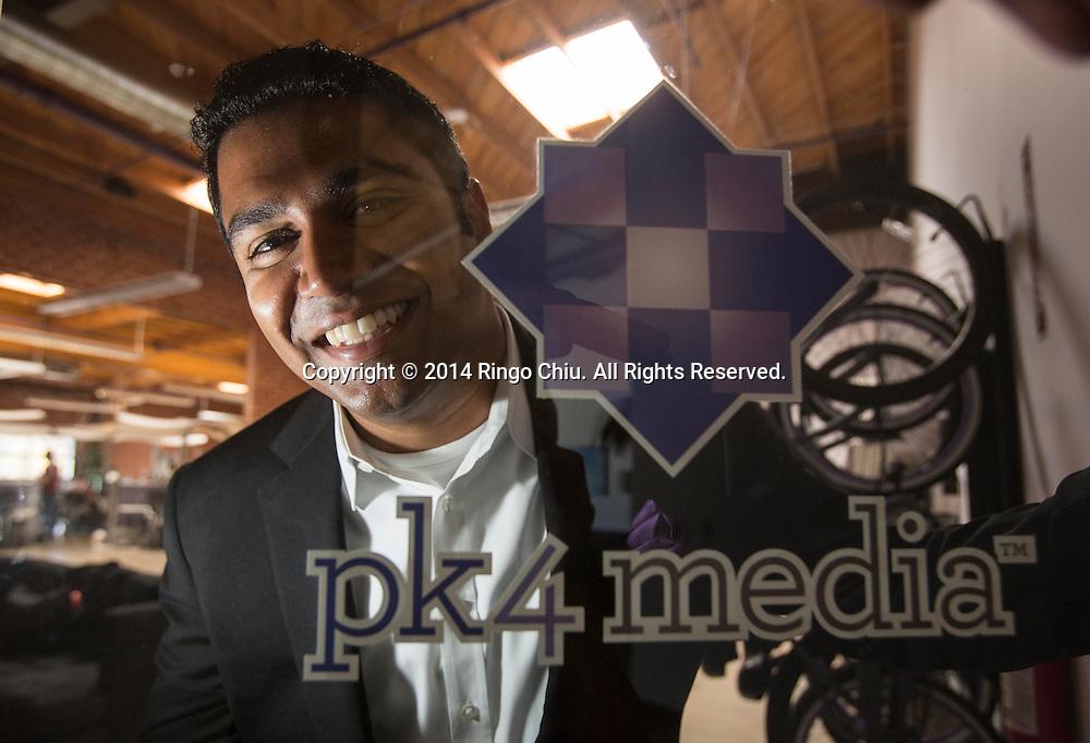 Tom Alexander, founder of PK4 Media.<br /> (Photo by Ringo Chiu/PHOTOFORMULA.com)
