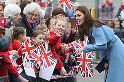 February 28, 2019 - Ballymena, Ireland, United Kingdom - Duke and Duchess of Cambridge on a walkabout outside the Braid Centre in Ballymena on the second day of their trip to Northern Ireland. (Credit Image: © Stephen Lock/i-Images via ZUMA Press)