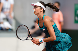 May 23, 2019 - Paris, FRANCE - Georgina Garcia Perez of Spain in action during the second qualification round at the 2019 Roland Garros Grand Slam tennis tournament (Credit Image: © AFP7 via ZUMA Wire)